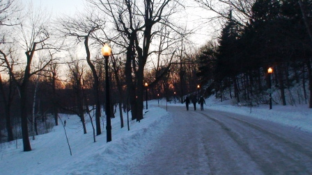 Mount Royal at dusk (c) Andy Mossack