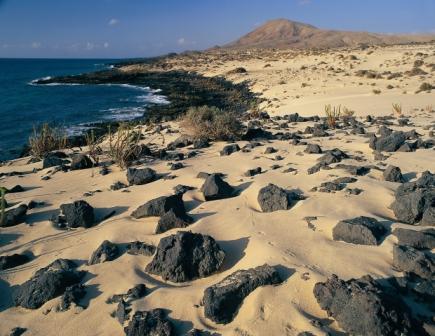Playa dunas Corralejo Fuerteventura