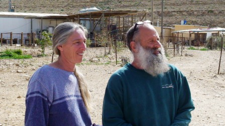 leah and gadi french cheese farmers (c) Andy Mossack