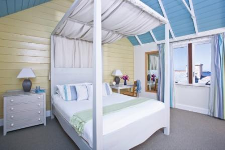Cottage Master Bedroom at The Headland