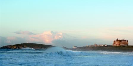The Headland Exterior with Stormy Seas
