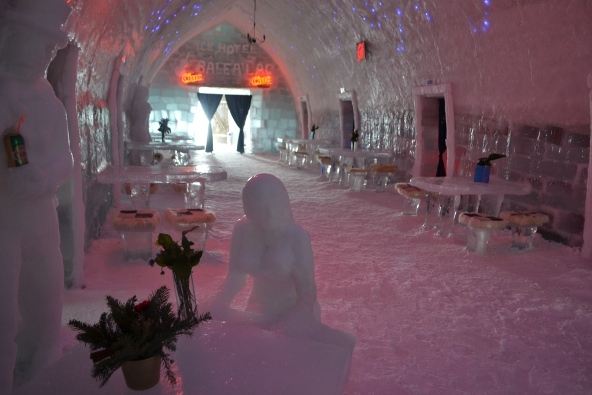 Ice Hotel Interior (c) Andy Mossack
