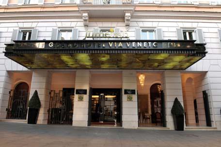 Jumeirah Grand Hotel Via Veneto The Entrance
