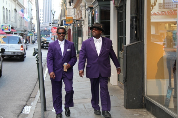 Sharp suits in New Orleans
