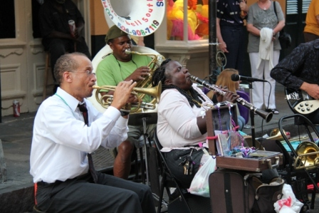 new orleans Street Jazz Band (c) Andy Mossack