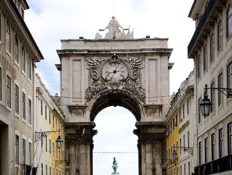 rua augusta arch