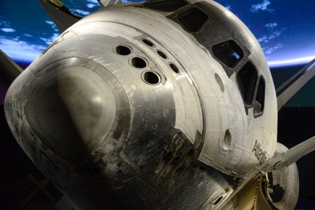 Atlantis Close Up at Nose