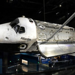 The Atlantis Space Shuttle. Truly out of this world.