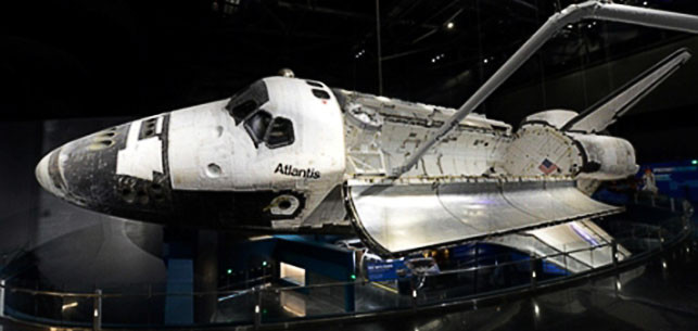 Atlantis from On Orbit Gallery