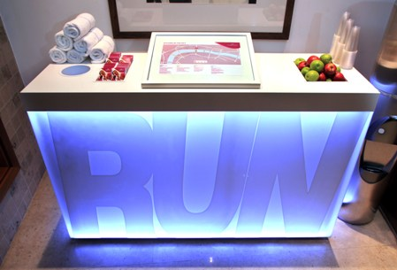 Run Stations at Crowne Plaza London