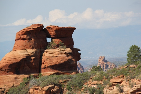 Sedona rock formations (c) Andy Mossack