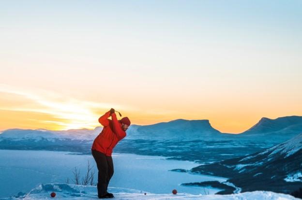 Snowgolf Björkliden photo Markus Alatalo small