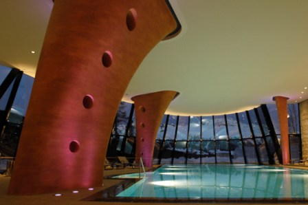 Kronenhof - pool winter