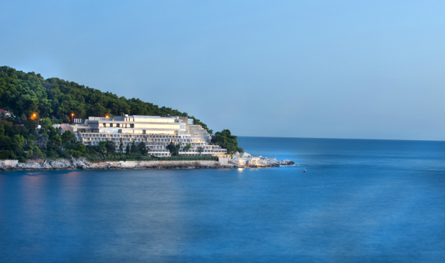 Location of Hotel Dubrovnik Palace