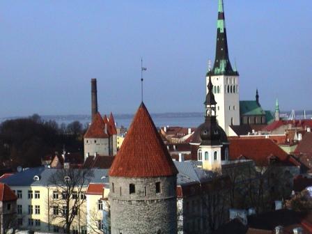 Tallinn Skyline c Andy Mossack