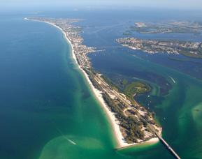 anna maria island aerial