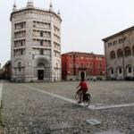 Parma. italy. Prosciutto and Parmigiano heaven.