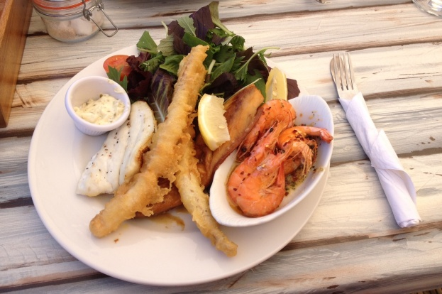 Mixed Seafood at the Cafe