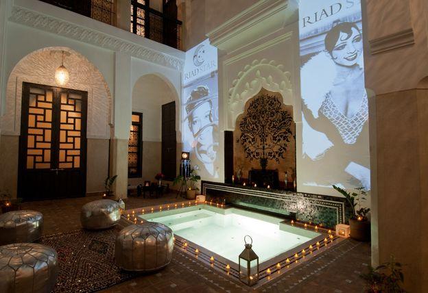 Riad Star patio 2114