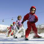 Enfants Bruno Longo OT Les 2 Alpes