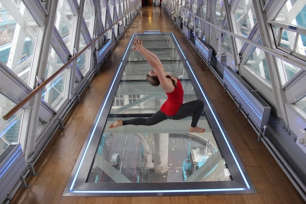 tower bridge yoga