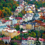Karlovy Vary. Film and facials.