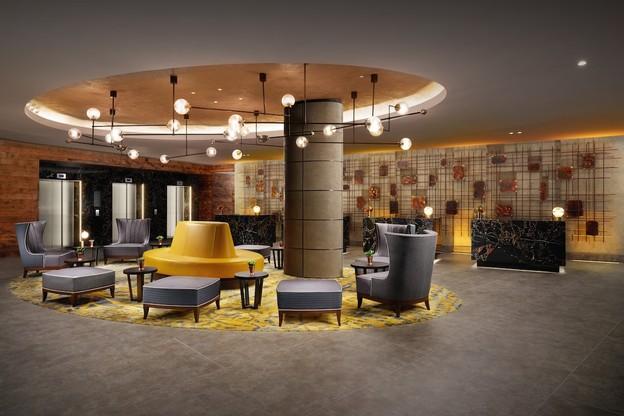 HIlton Bankside lobby