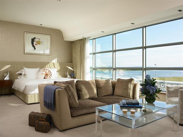 Bedroom at the g Hotel Junior Suite 50sqm