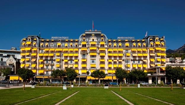 Montreux Palace exterior