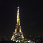 Paris from Cafe de lHomme