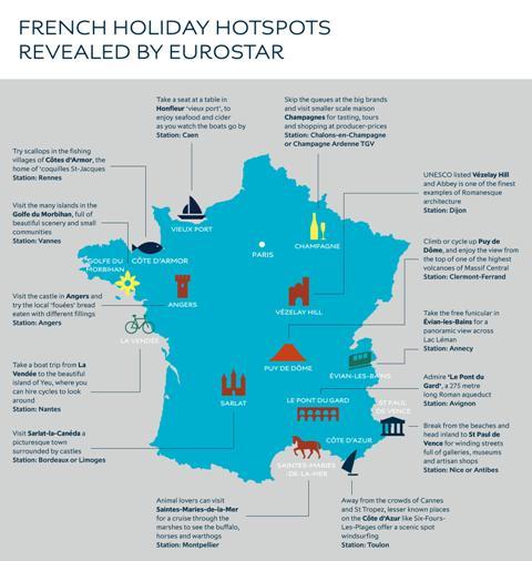 Eurostar Provinces France