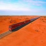 The Ghan is Australia's longest train