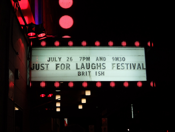 Just for Laughs Sign