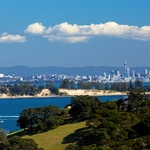 auckland view from Waiheke