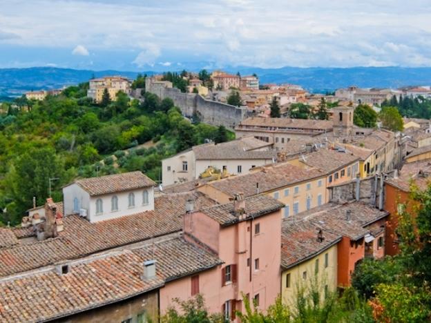 Perugia Medieval Walls
