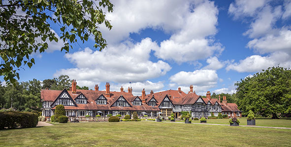 Petwood Hotel exterior view 1