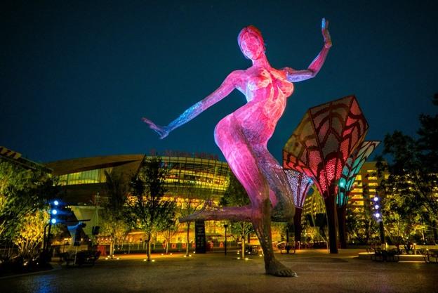 Bliss Dance by Night credit Barry Torantosm