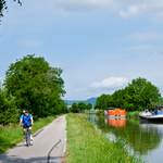 Biking in Burgundy