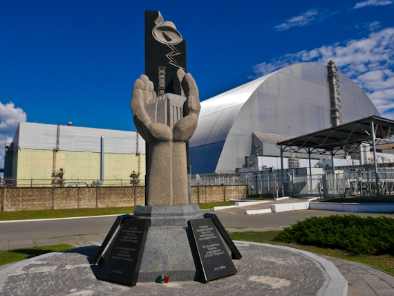 Reactor Number 4 and monument