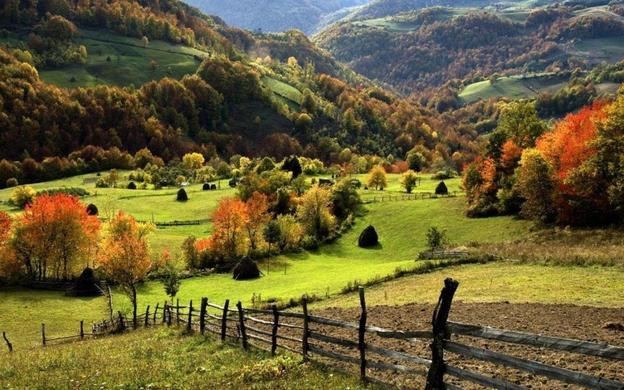 Serbia countryside