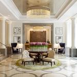 Whitehall lobby entrance people Corinthia Hotel London