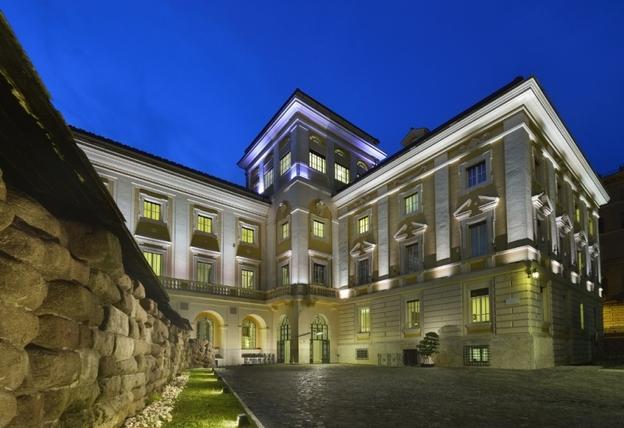 Palazzo Montemartini Ragosta Hotels Esteno night mod