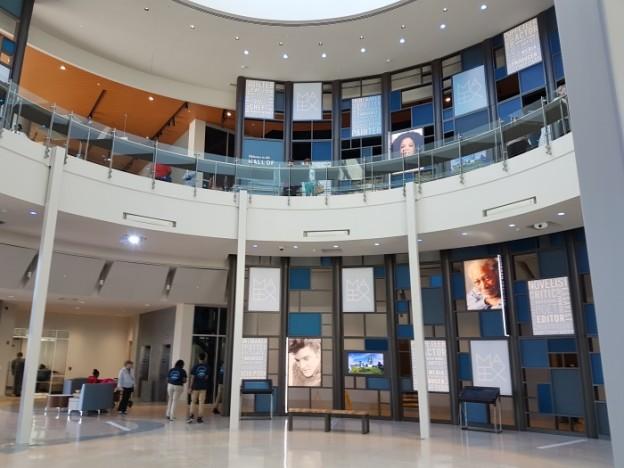 MAX Museum Meridian Mississippi 1 atrium