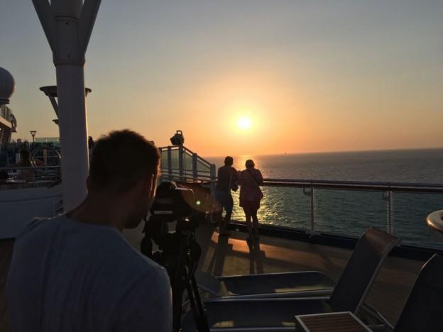 TravMedia United Kingdom 1287566 Filming on board