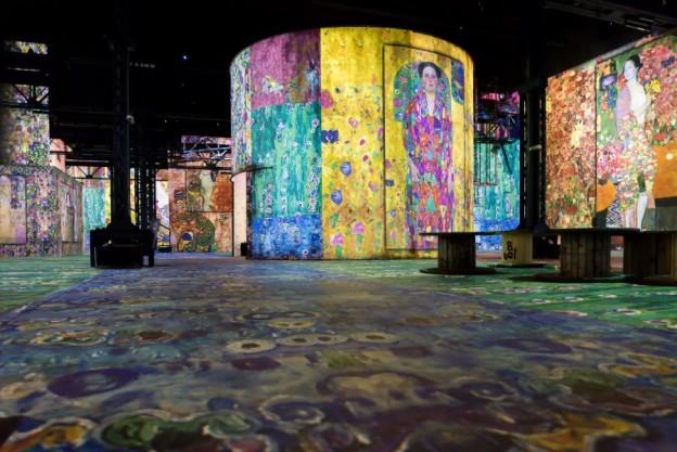 Klimt at Atelier des Lumieres2 credit Culture Spaces