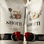 Shorn wine pouches