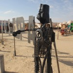 On the set of Star Wars' Mos Espa in Tunisia