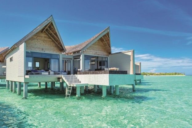 over water villa