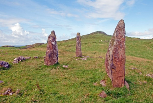 Standing stones Glen Gorm