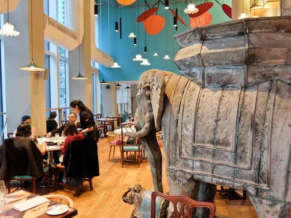 Dining Room Elephant